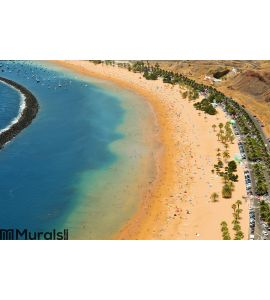Teresitas Beach in Tenerife, Canary Islands, Spain Wall Mural