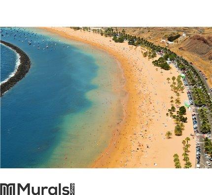 Teresitas Beach in Tenerife, Canary Islands, Spain Wall Mural Wall art Wall decor