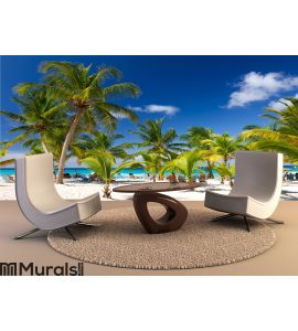 Tropical Beach, Saona Island Wall Mural Wall art Wall decor