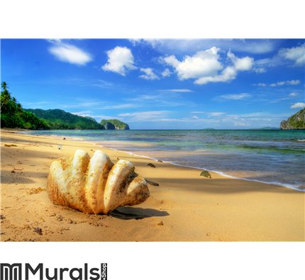 Tropical solitude Wall Mural Wall art Wall decor