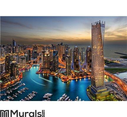 Dubai Marina Wall Mural Wall art Wall decor