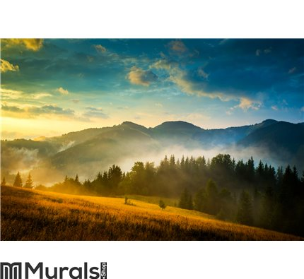Amazing mountain landscape Wall Mural Wall art Wall decor