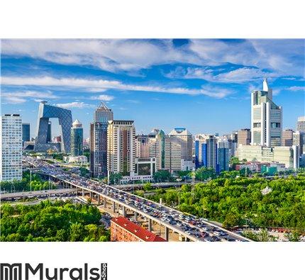 Beijing, China CBD Cityscape Wall Mural Wall art Wall decor