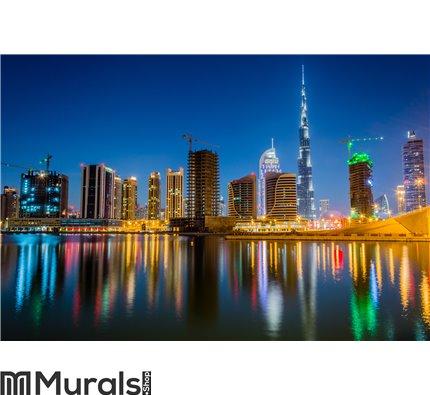 Dubai skyline Wall Mural Wall art Wall decor