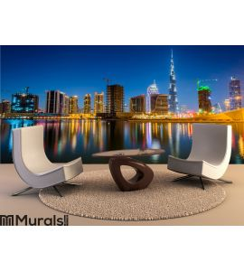 Dubai skyline Wall Mural Wall art Wall decor