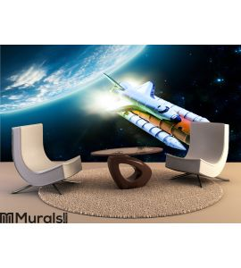 Space shuttle Wall Mural Wall art Wall decor