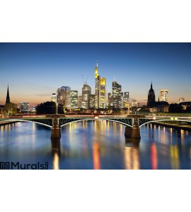 Frankfurt am Main. Wall Mural