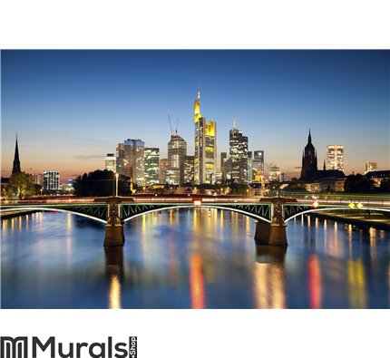 Frankfurt am Main. Wall Mural Wall art Wall decor