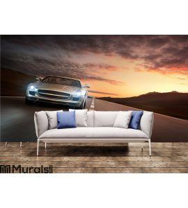 Luxury car Wall Mural Wall art Wall decor