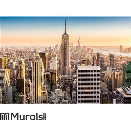 New York skyline on a sunny afternoon Wall Mural Wall art Wall decor