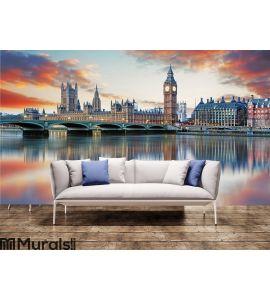 London - Big ben and houses of parliament, UK Wall Mural Wall art Wall decor