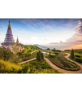 Doi Inthanon, Chiang Mai, Northern of Thailand Wall Mural