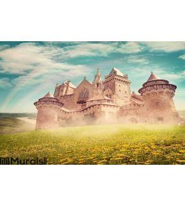 Fairy tale princess castle Wall Mural
