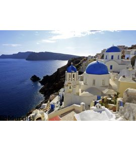 Santorini, Greece Wall Mural Wall art Wall decor