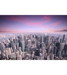 New York city Wall Mural Wall art Wall decor