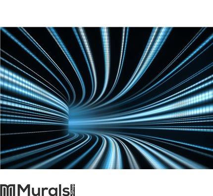 Time tunnel Wall Mural Wall art Wall decor
