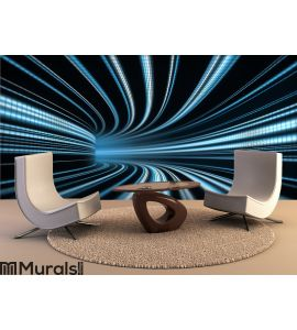 Time tunnel Wall Mural Wall art Wall decor