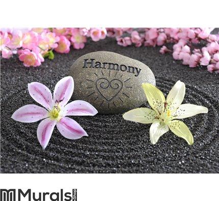 Zen garden of harmony Wall Mural Wall art Wall decor