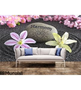 Zen garden of harmony Wall Mural Wall art Wall decor