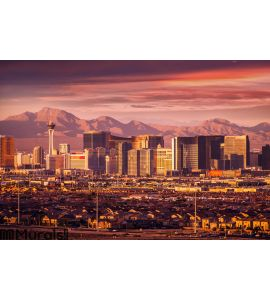Las Vegas Strip Skyline Wall Mural Wall art Wall decor