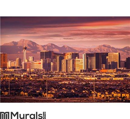 Las Vegas Strip Skyline Wall Mural Wall art Wall decor