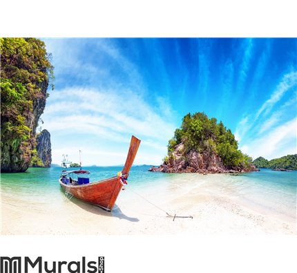 Amazing nature and exotic travel destination in Thailand Wall Mural Wall art Wall decor