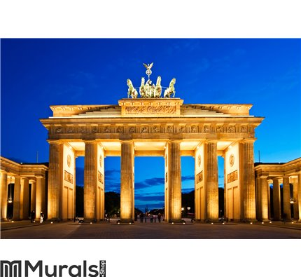 Brandenburg Gate in Berlin Wall Mural Wall art Wall decor