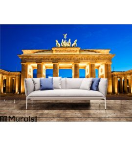 Brandenburg Gate in Berlin Wall Mural Wall art Wall decor