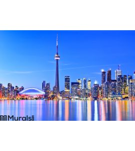 Toronto skyline in Ontario, Canada. Wall Mural Wall art Wall decor