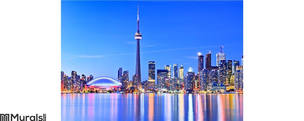 Toronto skyline in Ontario, Canada. Wall Mural