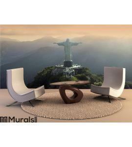 Christ the Redeemer - Rio De Janeiro - Brazil Wall Mural Wall art Wall decor