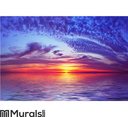 Bay Beach Sunset Wall Mural Wall art Wall decor