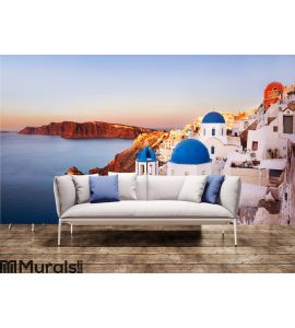 Oia, Santorini Greece Wall Mural Wall art Wall decor