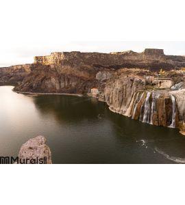 Shoshone Falls Snake River Idaho Canyon Buttes United States Wall Mural Wall art Wall decor