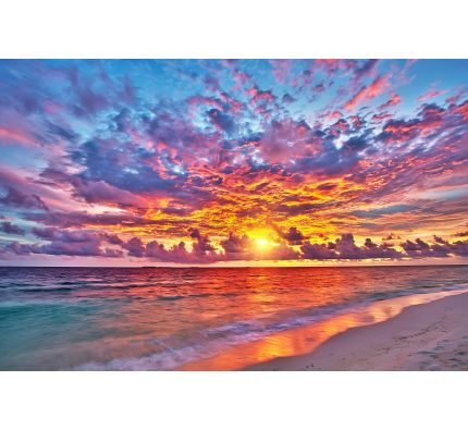 SUNSET OVER OCEAN wall mural Wall Tapestry tapestries