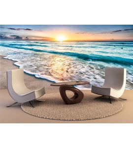 Sunrise Over Beach Wall Mural Wall art Wall decor