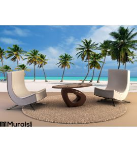 Punta Cana Beach Wall Mural Wall art Wall decor