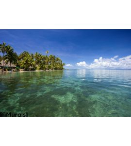 Tropical Bay Fiji Wall Mural Wall art Wall decor
