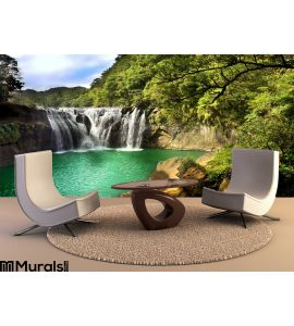 Waterfall Scenery Wall Mural Wall art Wall decor