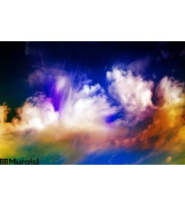 Abstract Galaxy Space Sky Wall Mural