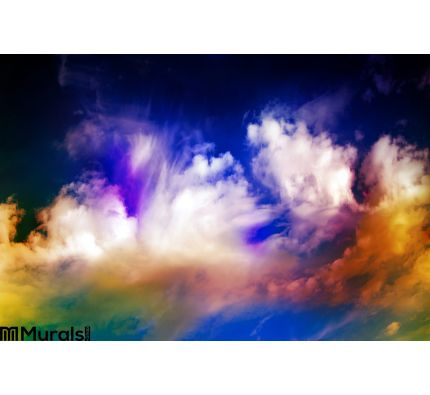 Abstract Galaxy Space Sky Wall Mural Wall art Wall decor