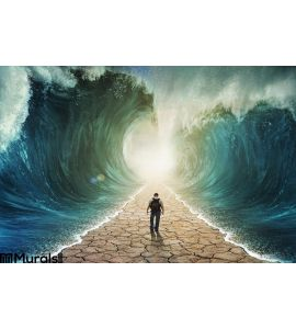Walking Water Wall Mural Wall art Wall decor