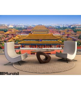 Beijing China Forbidden City Wall Mural Wall Tapestry tapestries