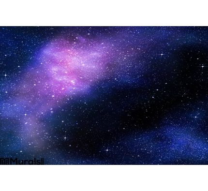 Starry Deep Outer Space Nebual Galaxy Wall Mural Wall Tapestry tapestries
