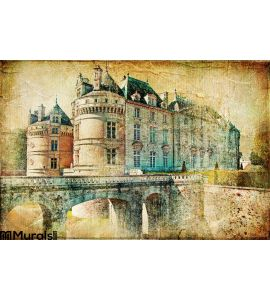 Le Lude Castle Wall Mural