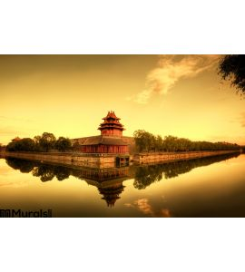 Forbidden City of Beijing China Wall Mural Wall Tapestry tapestries