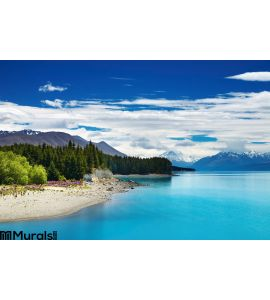 Pukaki Lake New Zealand Wall Mural