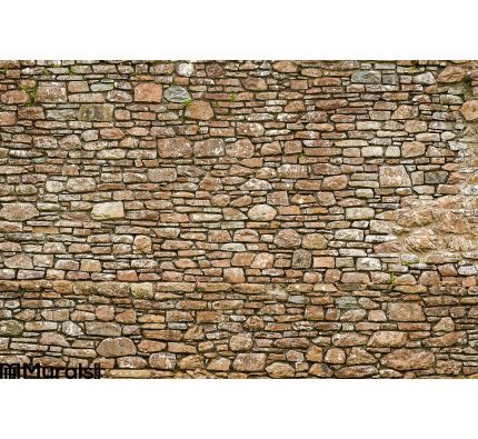 Old Ancient Wall Made Stone Wall Mural Wall art Wall decor