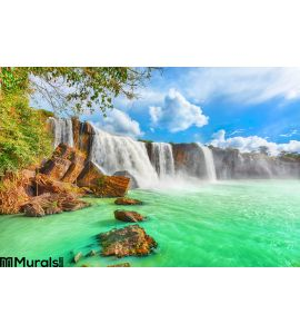 Dry Nur Waterfall Wall Mural Wall art Wall decor