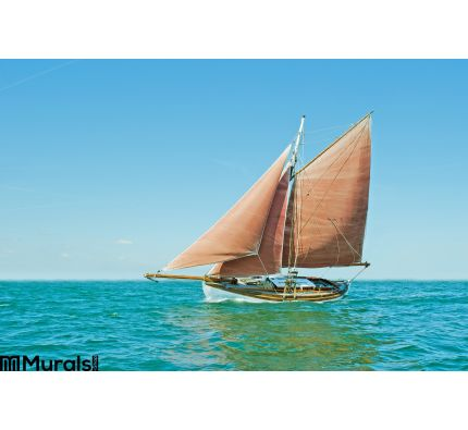 Old Sailing Boat Wall Mural Wall Tapestry tapestries